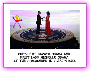 Obama dancing