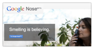 Google Nose Beta logo