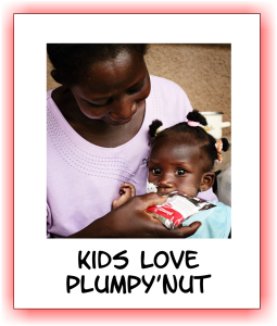 Kids Love Plumpy Nut