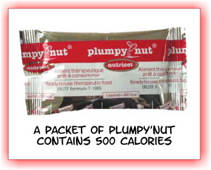Plumpy Nut Packet