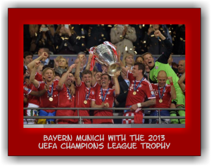 Bayern Munich Champions League Trophy