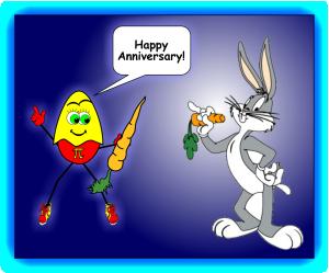 Bugs Bunny Anniversary Wize Az