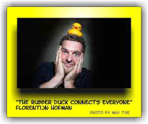 The Rubber Duck creator Florentijn Hofman