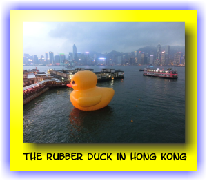 The Rubber Duck in Hong Kong