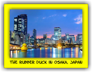 The Rubber Duck in Osaka