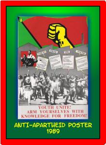 Anti-Apartheid Poster