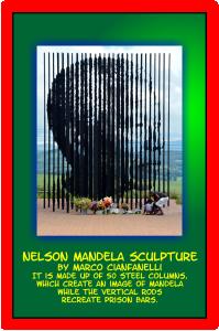 Nelson Madela Sculpture
