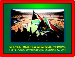 Neslon Mandela Memorial Service FNB Stadium