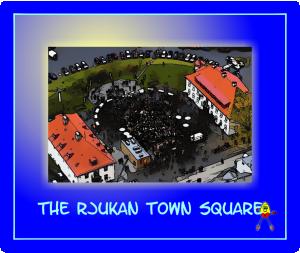 Rjukan Town Square