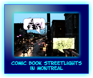 Comic Book Streetlights Montreal 2014 2