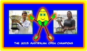 Aussie Open 2015 Champions