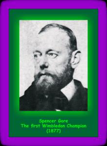 Wimbledon 2016 Spencer Gore 1877
